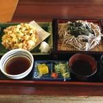 そば処 北田屋 - 料理写真:海鮮かき揚げざるそば