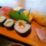 57449569 - 寿司定食