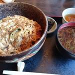 たきの - カツ丼