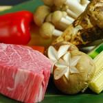 六番館 - 新鮮な食材達