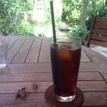 カフェ グローブ - 2016年9月:アイスコーヒー…相方が頼みました