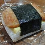 パンデコロコロ - 料理写真:スパムおむすび玉子入り250円