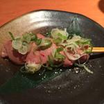 虎串 - 鶏刺(白肝¥250)