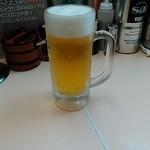 らーめん濱来た - 生ビール