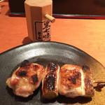 虎串 - ねぎま・塩(¥180)