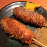 虎串 - 串カツ・塩&醤油
