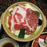 湯ヶ島温泉 湯本館 - 猪鍋