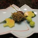 湯ヶ島温泉 湯本館 - 前菜