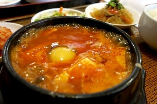 韓国家庭料理 扶餘