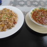 アサー インディアン レストラン&バー - 料理写真:インドの炒飯とチャナマサラ