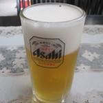 アサー インディアン レストラン&バー - 生ビール
