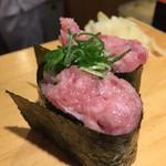 沼津魚がし鮨 - ネギトロ軍艦