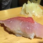 沼津魚がし鮨 - 金目鯛