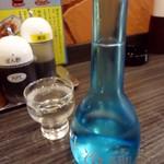 焼鳥日高 - 「生冷酒」360円也。