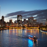 風の街 ルージュ  - 天満橋からの夜景