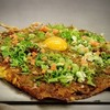 okonomiyakiteppansakabaakaribasan - 料理写真:
