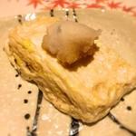 つみき - 2016 とっとこ村の魚沼ヒカリ卵の出汁巻き玉子
