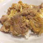 ビンチェ - 豚肉と卵の生姜焼きDON