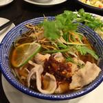 ブルードラゴンオリエンタル - 豚肉と野菜のフォー