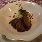 菜の詩 - アントレは、牛肉の煮込み