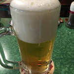 オオムラ - フワフワな泡の生ビール♪