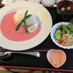 大榎庵 - ピンク華麗セット 1500円 (2016.10)