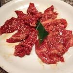 味覚園 - 料理写真:彩美牛ロース&サガリ1480円