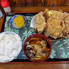 峠の茶屋 - 料理写真:若鶏の唐揚げセット(2016年10月)