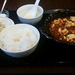57475573 - 麻婆豆腐定食650円