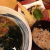 杵屋 - 料理写真: 天ぷらそば定食(940円)を頂きました。