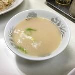 唐八景 - チャーハンのスープ