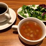 タパスブランコ - コーヒーだけは美味しかった