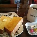 カフェ・モート - Aモーニングセット