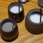 飯場 - 串揚げ用の塩