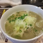 やきとり処 大舞 - 塩もつ煮 420円(税込)