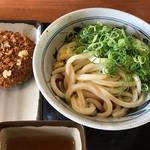 香の川製麺 - 合計で410円(税込)