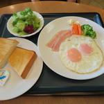 レストラン並木 - 洋朝食