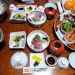 ホテル椿荘 - 料理写真:(2011.12)夕食