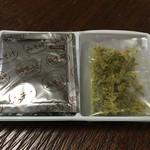砂山 - 料理写真:あおさ みそ汁