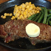 ペコペコ - 料理写真:ステーキランチ ¥1050、お値打ち。