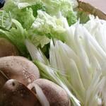 57484946 - 道の駅くりもとで購入した野菜と♪