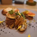 エスタシオン - 秋刀魚のパステル 焼き茄子とイチジク