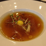 香港海鮮酒家 Lei U Mun - 冬瓜と滑子の酸辣湯仕立て