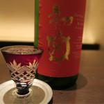 酒肆ポンシェビ  - 日本酒2杯目