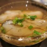 酒肆ポンシェビ  - 出汁牡蠣