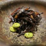 酒肆ポンシェビ  - 3種の前菜 ひじき