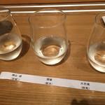 銀座酒蔵検校 - 花セット(650円)