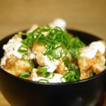 フラックス カフェ - 鶏唐揚げ丼