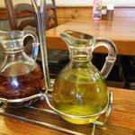 オールド ヒッコリー - 辛味オリーブとプレーンオリーブ