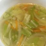 まめでたっしゃ - 野菜スープ